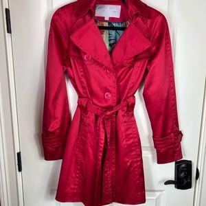 ☀️Jessica Simpson Red jacket / pea coat medium ☀️